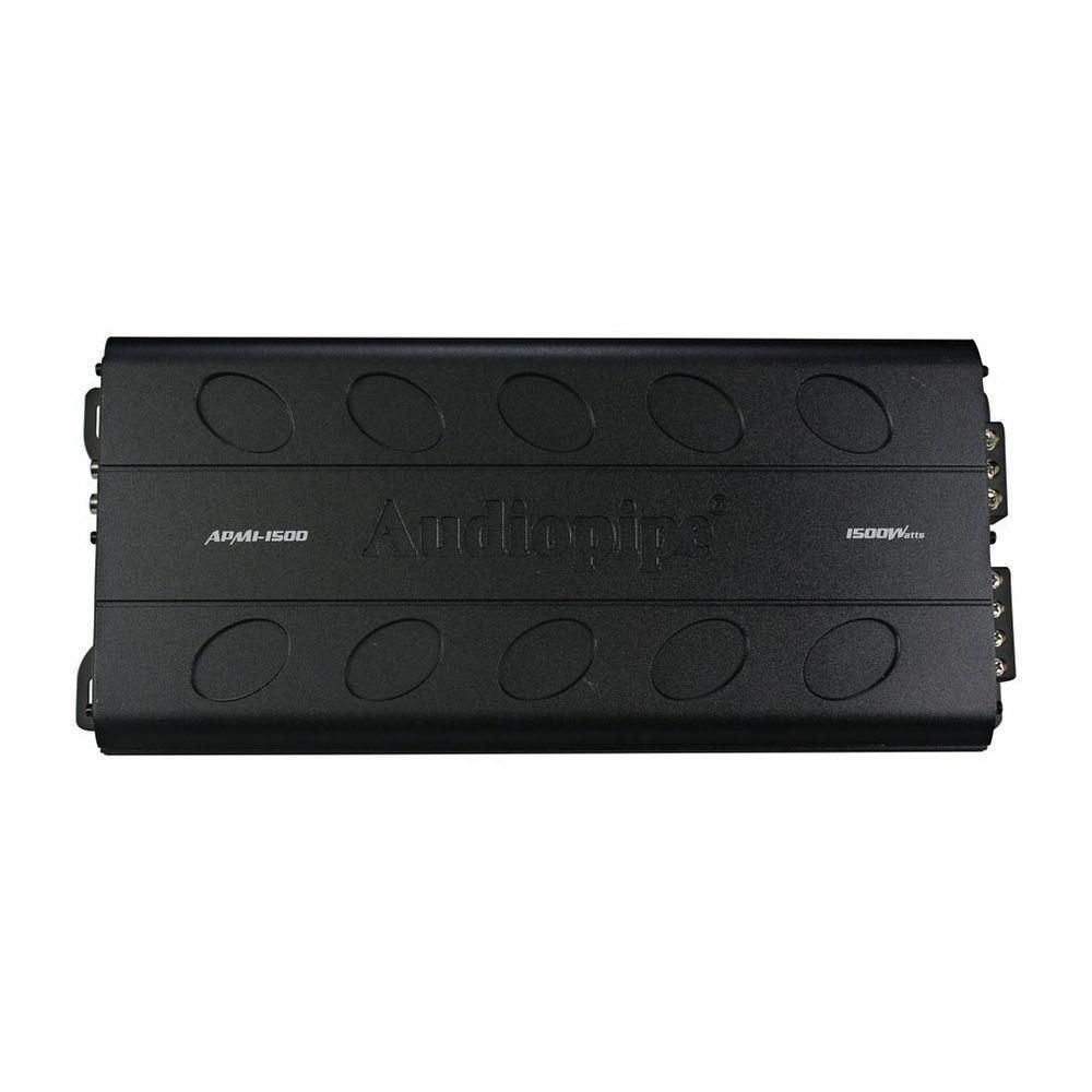 Audiopipe Apmi 1500 1500 W Monoblock Class D Car Amplifier  # Muebles Motorizados Edd