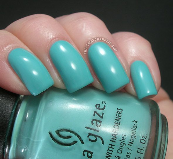 Polishes I Own 36 China Glaze For Audrey Named After Hepburn This Is S Interpretation Of Tiffany Blue