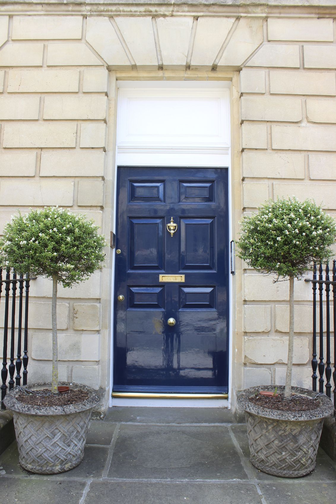 21 Cool Blue Front Doors for Residential Homes | Steel fence ...