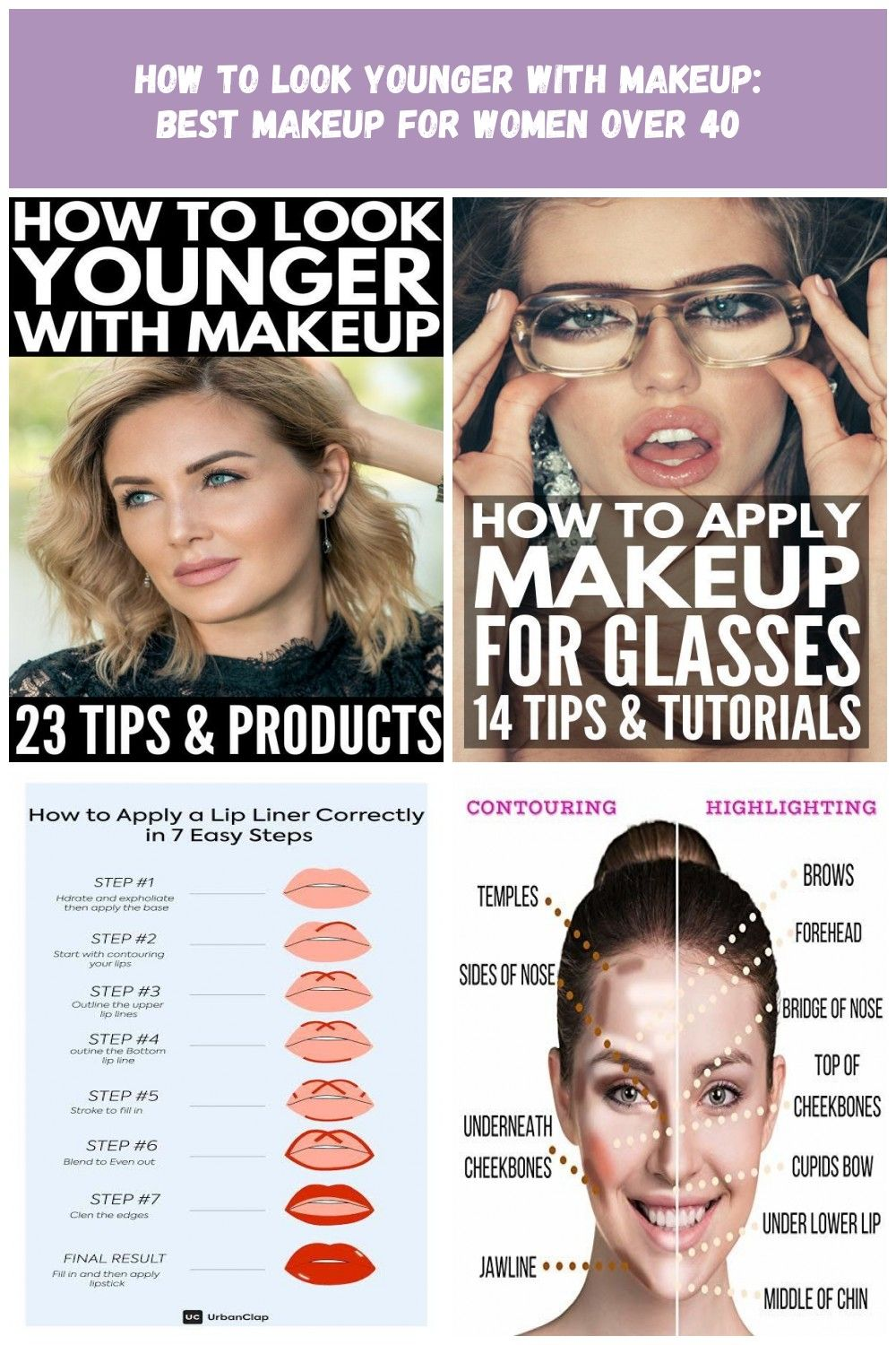How to Look Younger with Makeup  Look 8 years younger with these