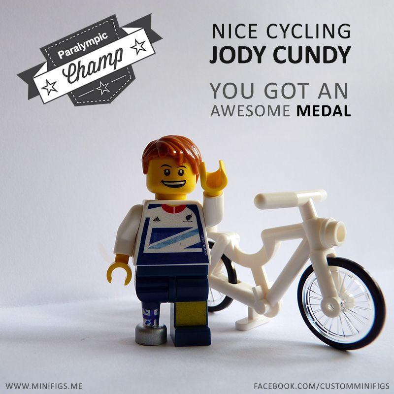 Jody Cundy Custom lego, Lego london, Minifig