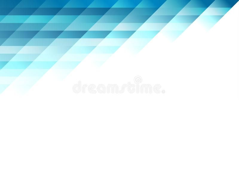 Blue Tech Minimal Geometric Abstract Background Abstract