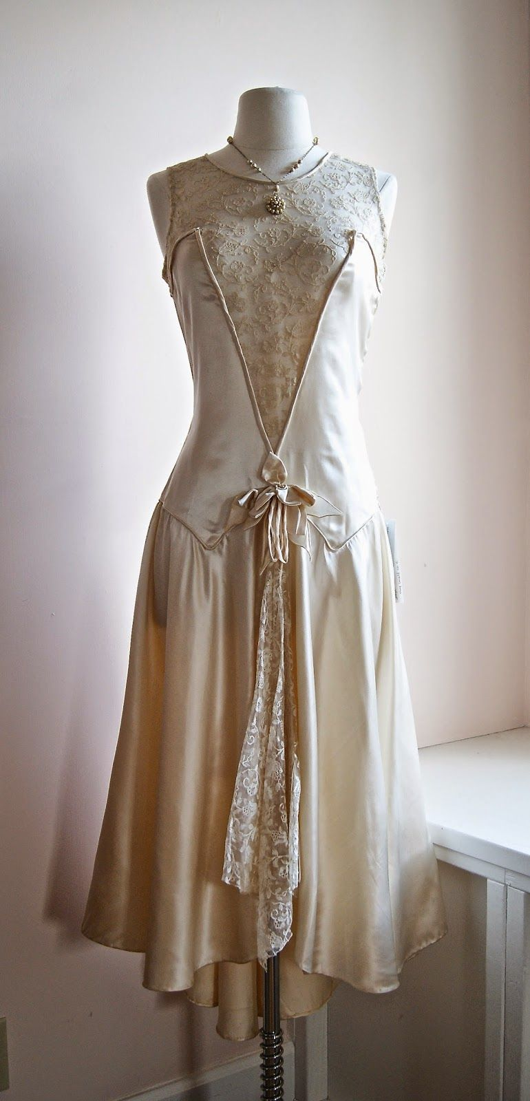 1920s Wedding Dress At Xtabay Vintage Clothing Boutique