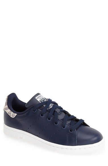 8309b70acbc Free shipping and returns on adidas  Stan Smith  Sneaker (Women) at  Nordstrom.com. Perforated stripes detail the sides of an iconic tennis shoe  updated in ...