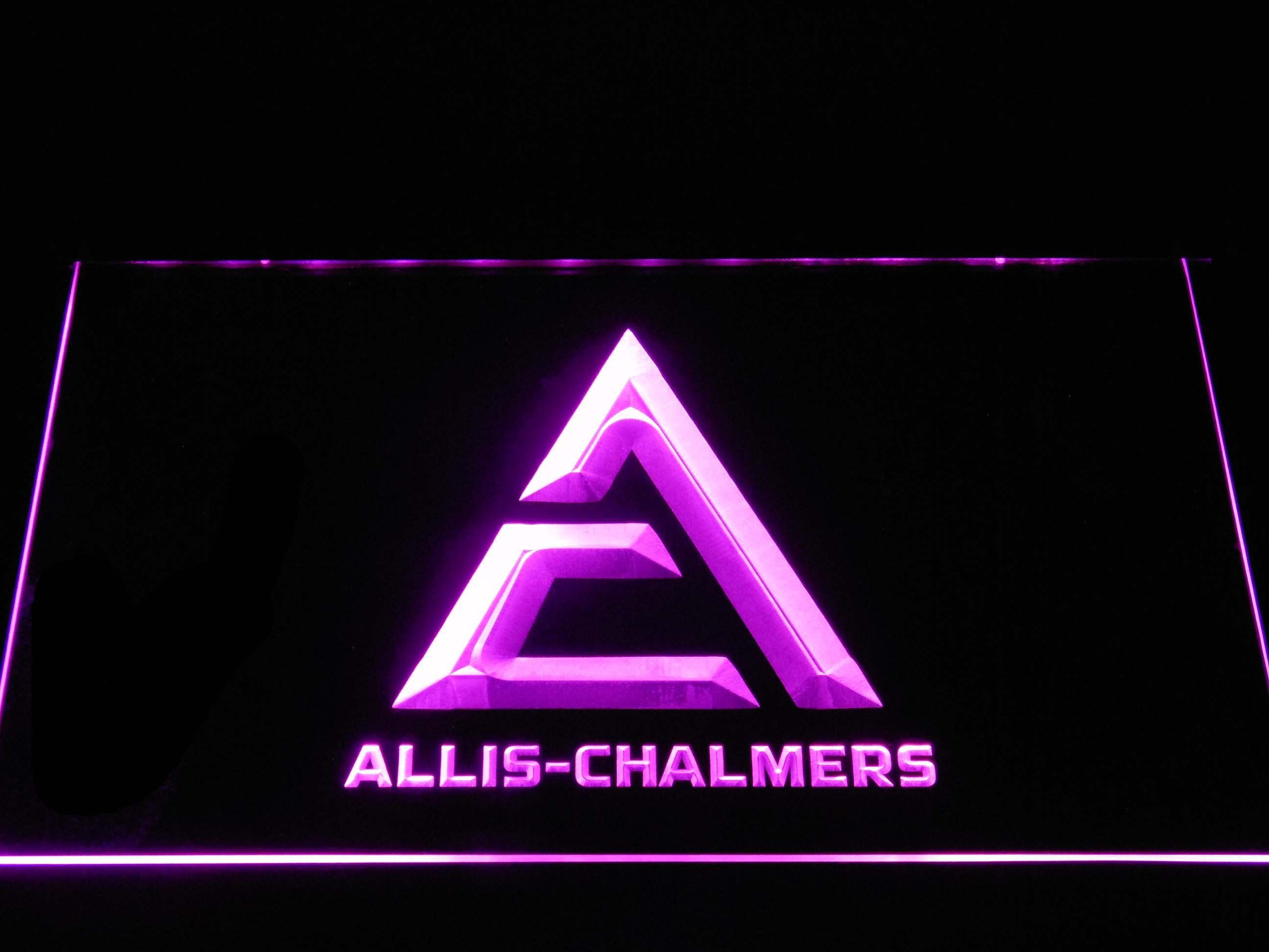 AllisChalmers Triangle Logo LED Neon Sign Led neon