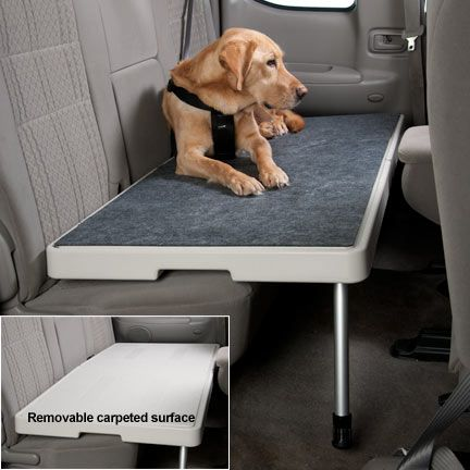 Petdek Makes Your Backseat Safer For Pet Travel By Providing A Level Surface On Which Your Pet Can Ride Comforta Small Pets Dog Seat Covers Diy Stuffed Animals