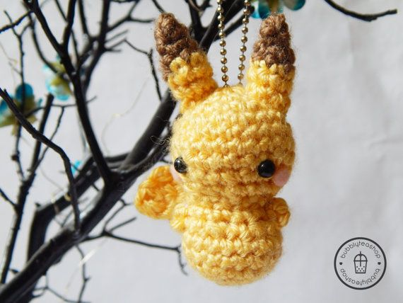 crochet pokemon keychain patterns free - Recherche Google ... | 428x570