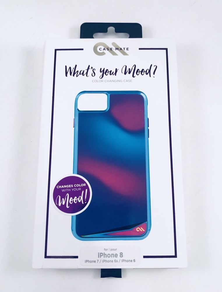 super popular 045b4 70696 Case Mate MOOD CHANGING COLOR CASE Apple iPhone 8 iPhone 7 6S 6 ...