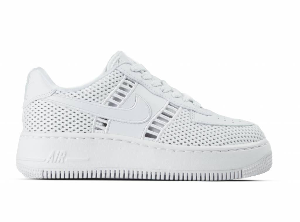 online store 3979b 22fa1 Nike W Air Force 1 Upstep SI White White Vast Grey 917591 100 online kopen ✓