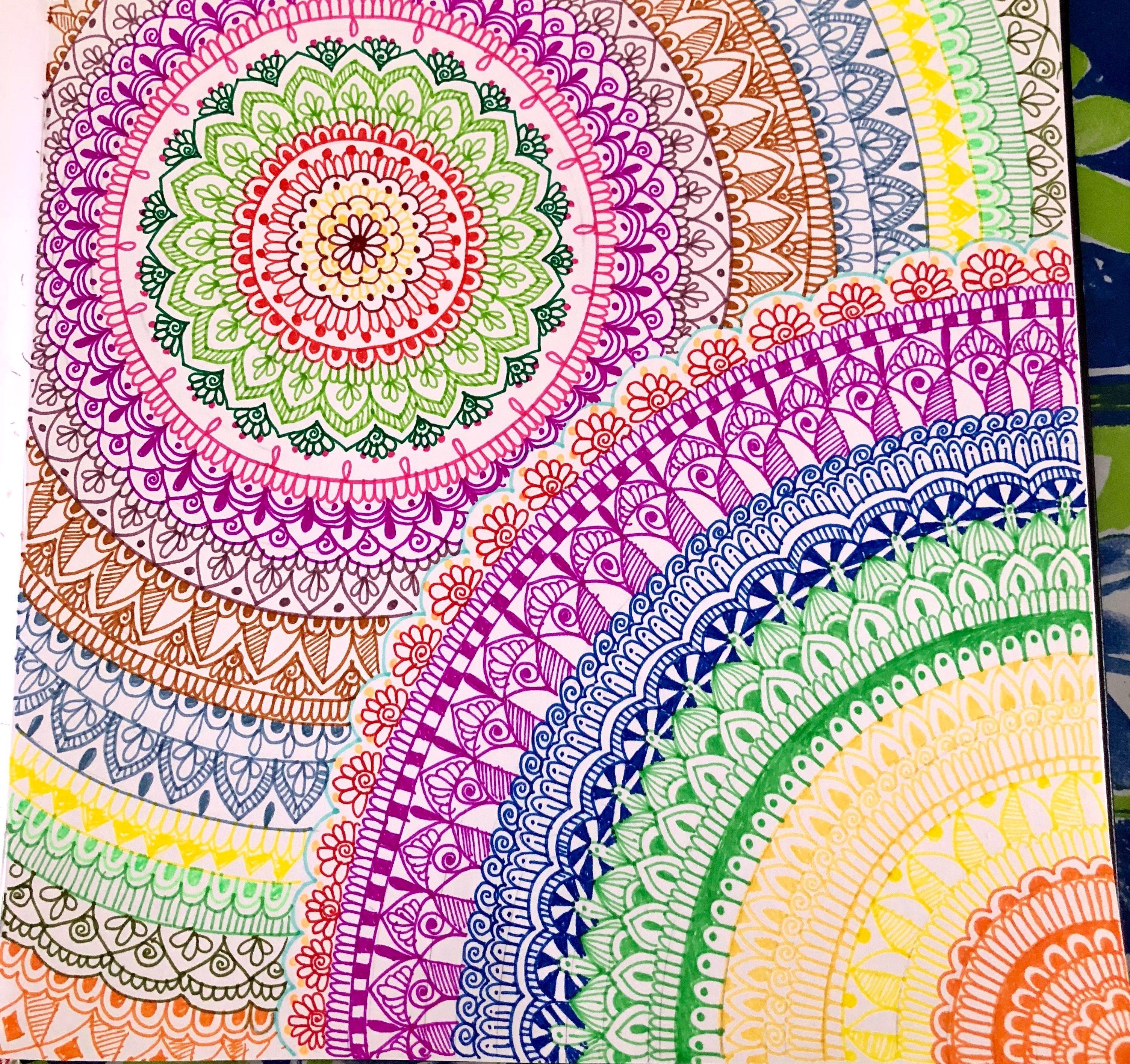 12 Captivating Drawing On Creativity Ideas Drawings Zentangle Art Mandala Doodle
