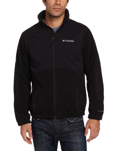 Columbia Men's Ballistic Iii Fleece Jacket, Black, Large Columbia ...