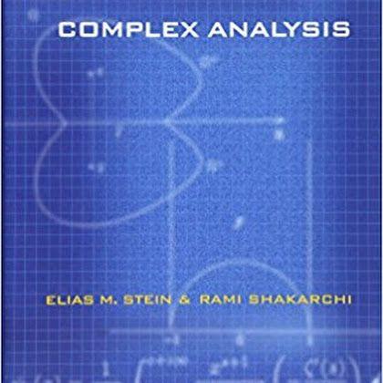 Dowload Pdf Stein Shakarchi Complex Analysis 2003 Livros
