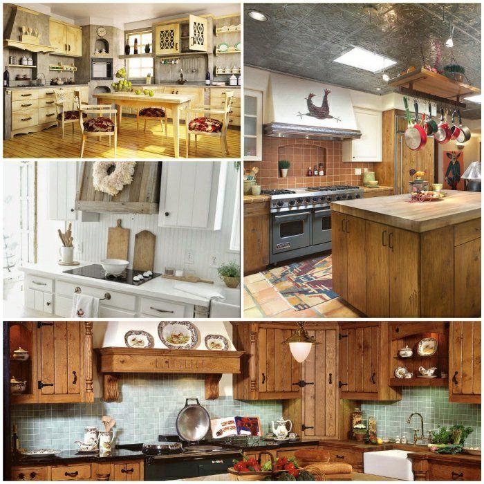rustikale küchen küche einrichten wohnideen küche | Küche ...
