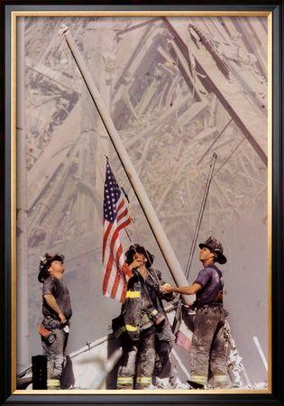 'Ground Zero, NYFD' Print - Thomas E. Franklin   AllPosters.com