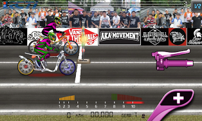 Game Drag Bike 201m Indonesia Mod Apk By Rizky 2020 Drag Racing