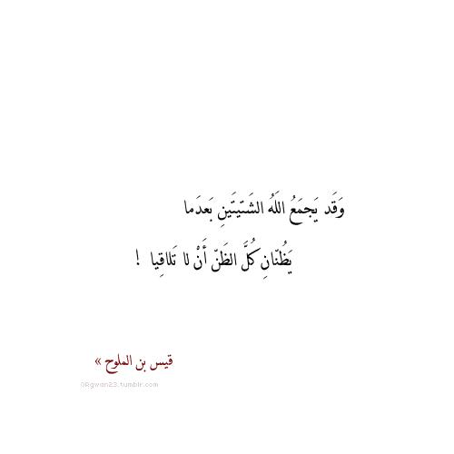قيس بن الملوح Words Quotes Quran Quotes Quotes