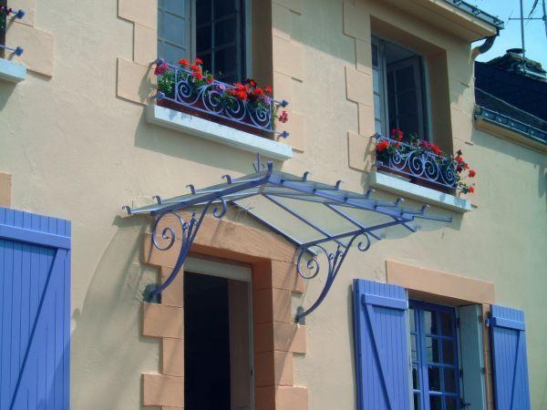 Marquise deco Pinterest Door canopy, Canopy and Doors