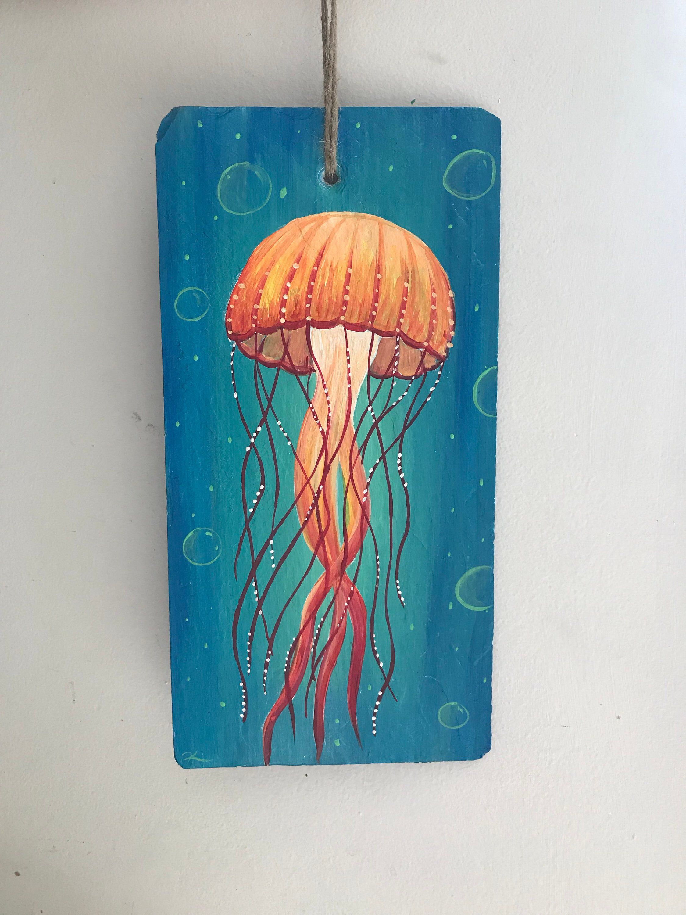Excited To Share This Item From My Etsy Shop Jellyfish Art Art Painting Jellyfishart Jellyfish Jellyfish Art Jellyfish Painting Jellyfish Illustration