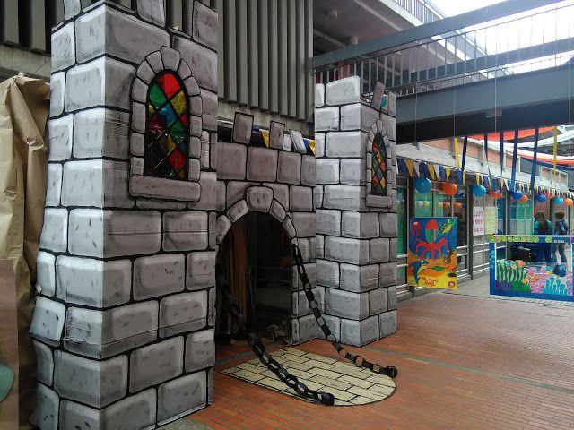 Castillo Castillo Grande Reciclaje Castillo En Cartón Manualidades Como Hacer Un Castillo Castillo De Cartón Castillos