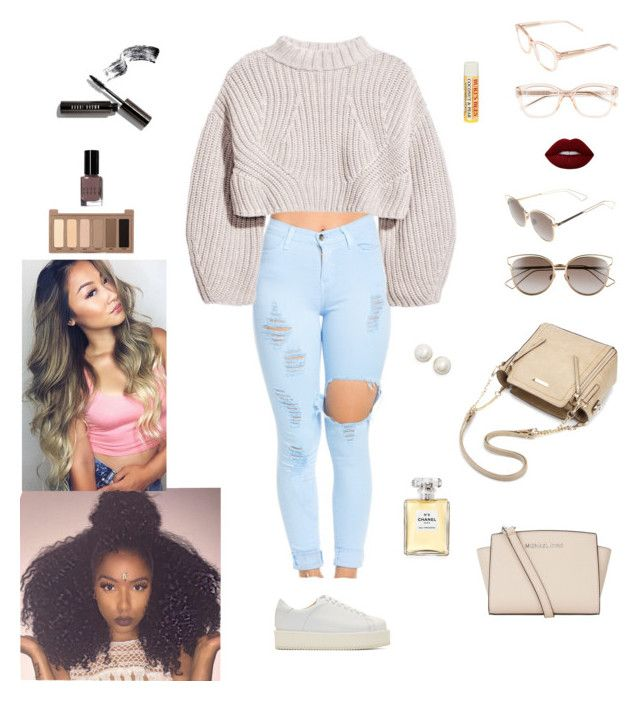 """""""My items"""" by simply-tailor ❤ liked on Polyvore featuring SILENT by Damir Doma, Kate Spade, Urban Decay, Bobbi Brown Cosmetics, Lime Crime, Burt's Bees, MICHAEL Michael Kors, Christian Dior and Chanel"""