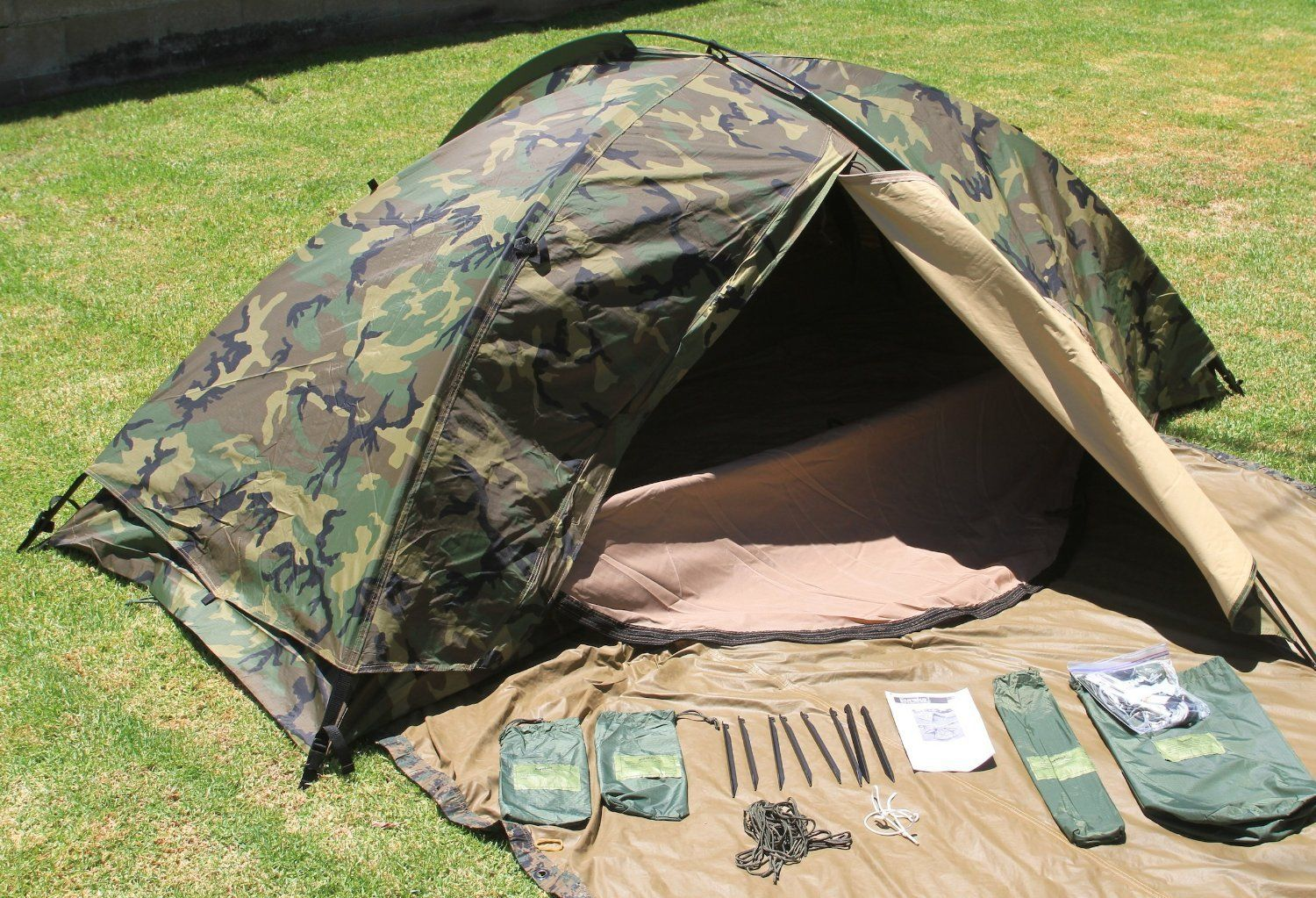 Eureka Tent, Combat One Person (TCOP) >>> Review more