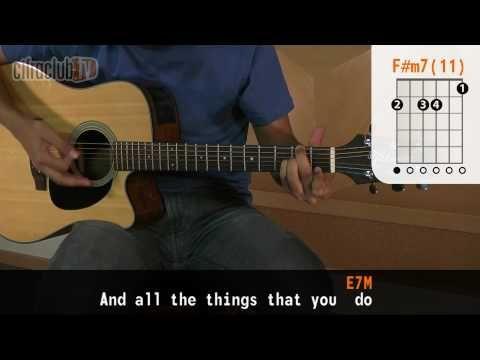 Yellow Coldplay Aula De Violo Completa Youtube Guitar
