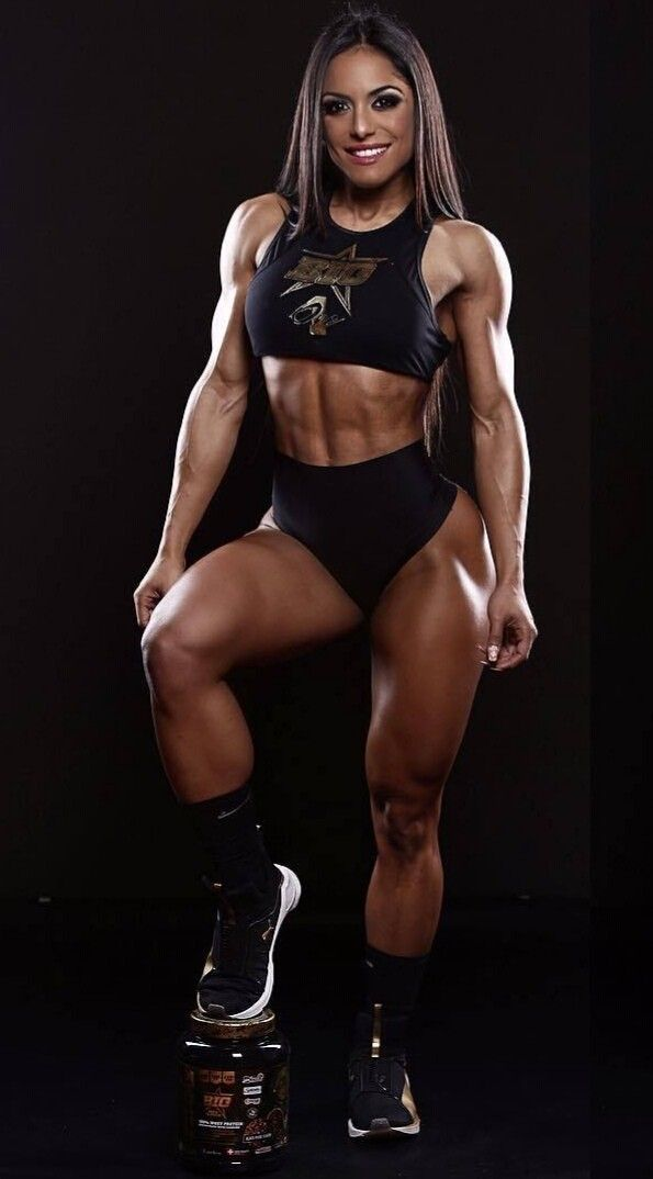Chicks with muscles