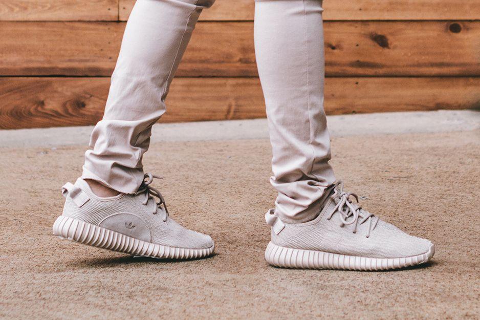 Adidas Originals Yeezy Boost beige
