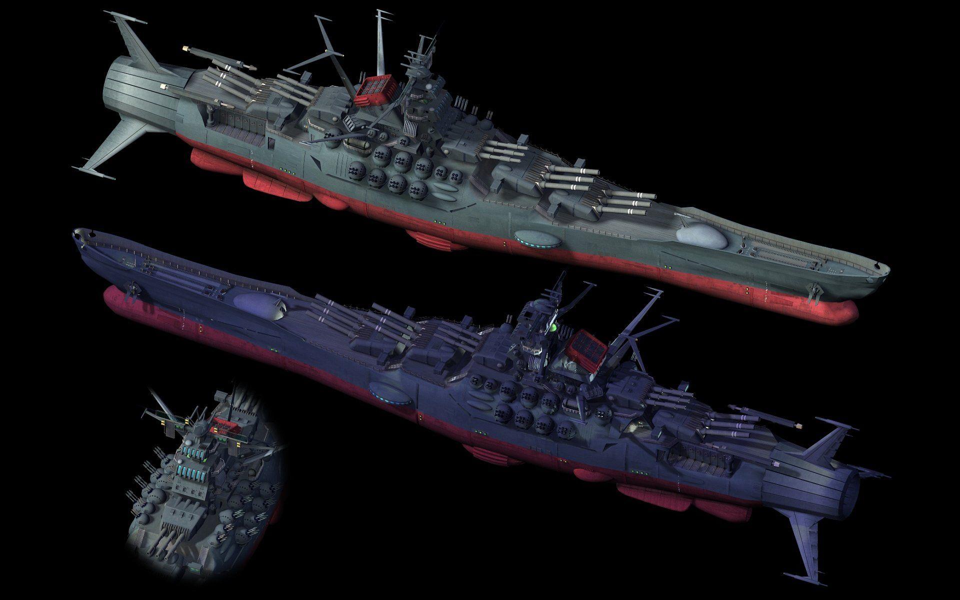 Battleship Yamato Computer Wallpapers Desktop Backgrounds 1920x1200 Id 151254 Battleship Yamato Space Battleship