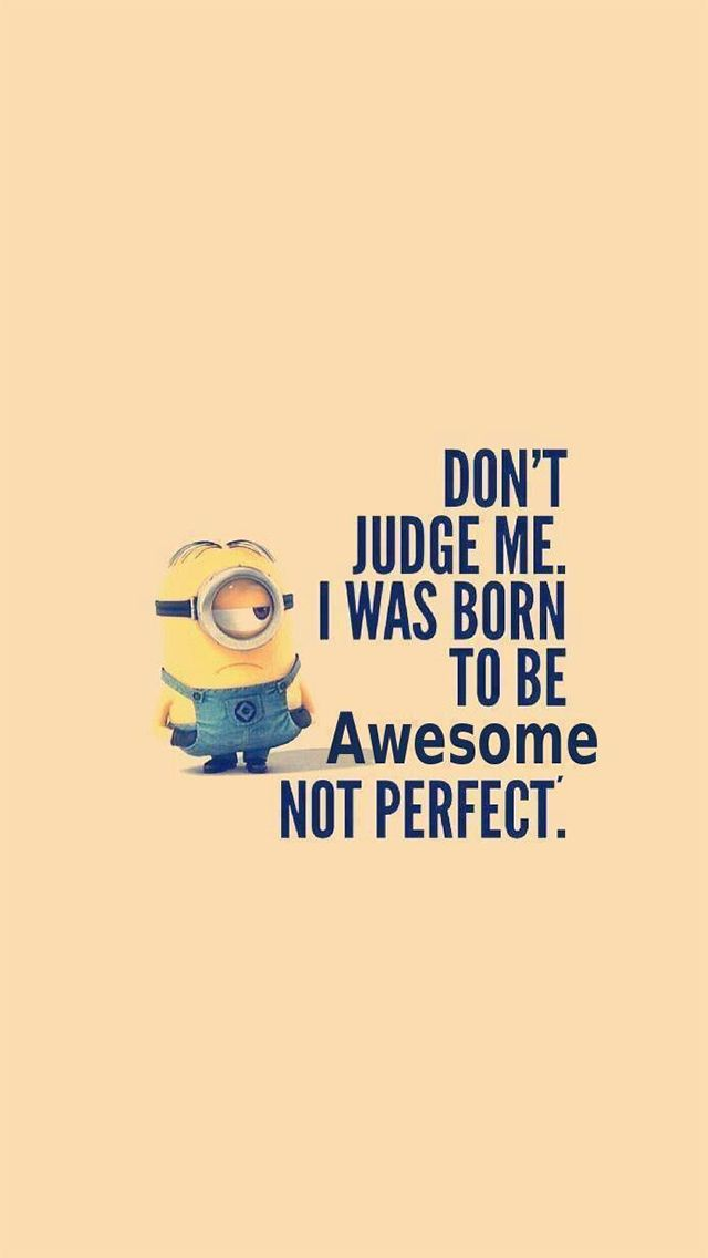 Iphone 5 Wallpapers Photo Funny Minion Quotes Minions Funny