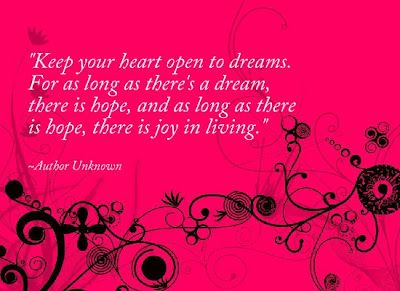 Bring Open pictures and quotes   Inspirational Picture Quotes...: Keep your heart open to dreams.
