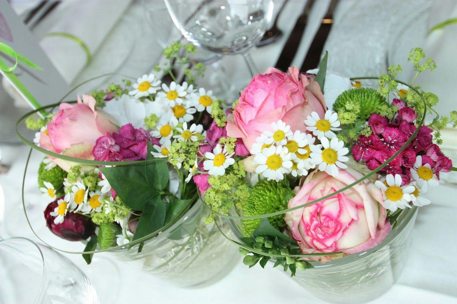 Tischdeko Hochzeit Fuchsia Blumen Hochzeits Deko Pinterest