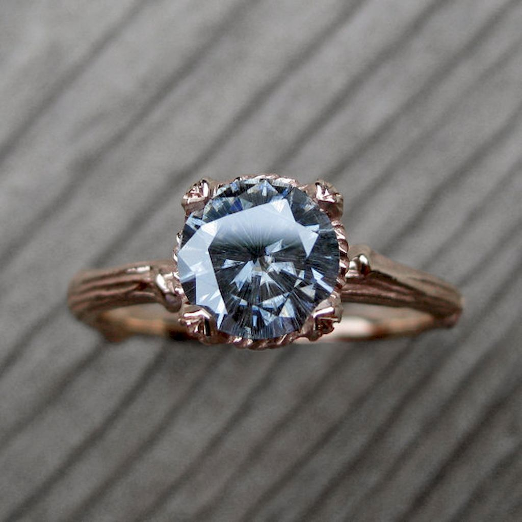 82 Cushion Cut Vintage Engagement Ring Ring Engagement and Wedding