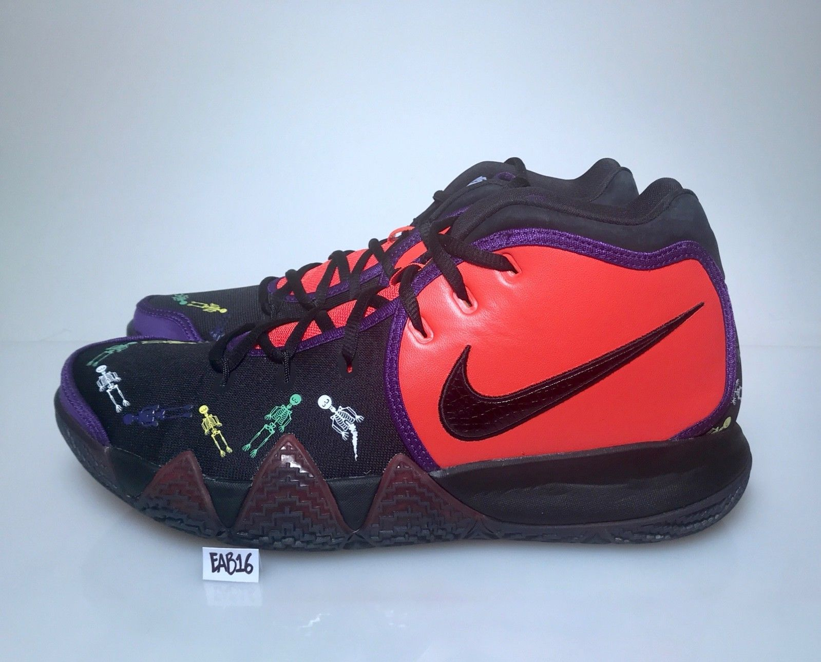 6b20487692c Details about Nike Kyrie Irving 4 IV Day Of The Dead DOTD TV PE 1 ...