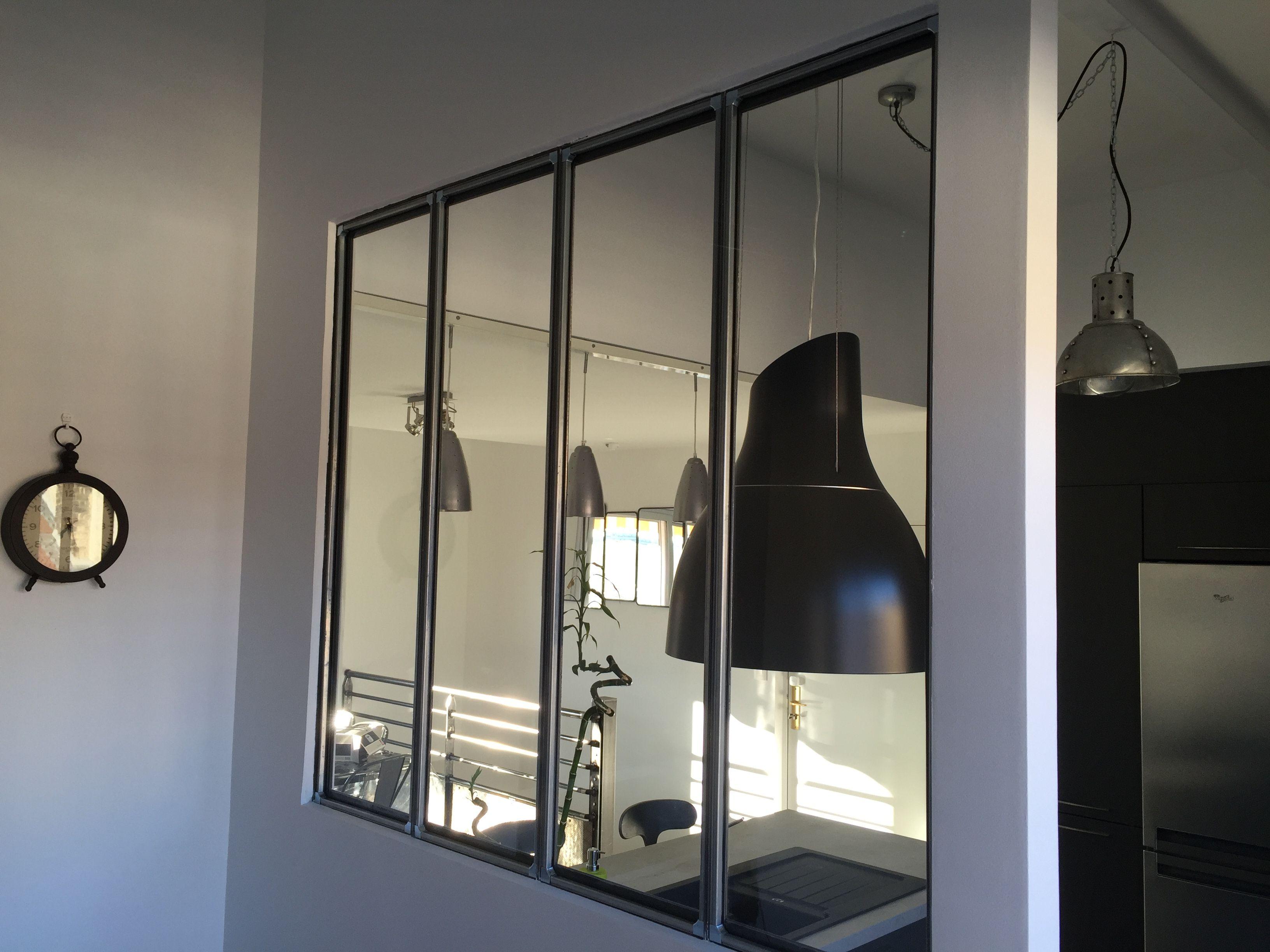 pingl par creametal sur creasystem pinterest verriere interieur et verrieres interieure. Black Bedroom Furniture Sets. Home Design Ideas