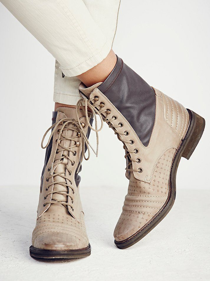e20be7994eb09 Free People Sounder Lace Up Boot at Free People Clothing Boutique