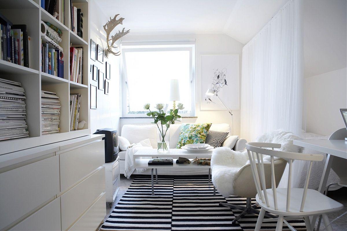 Schmales Wohnzimmer ~ Scandinavian design modern trend: scandinavian interior
