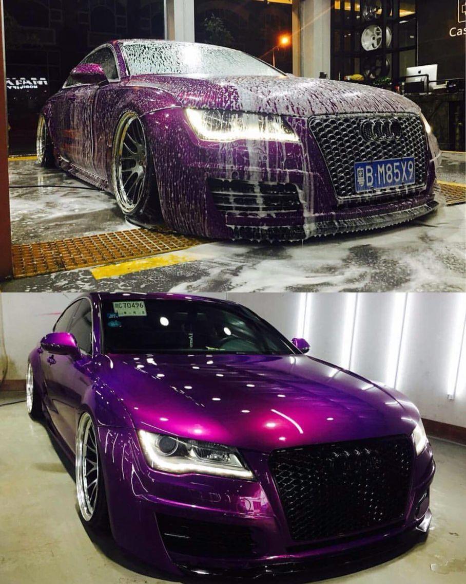 Magenta Purple Audi Purple Car Car Paint Colors Candy Paint Cars