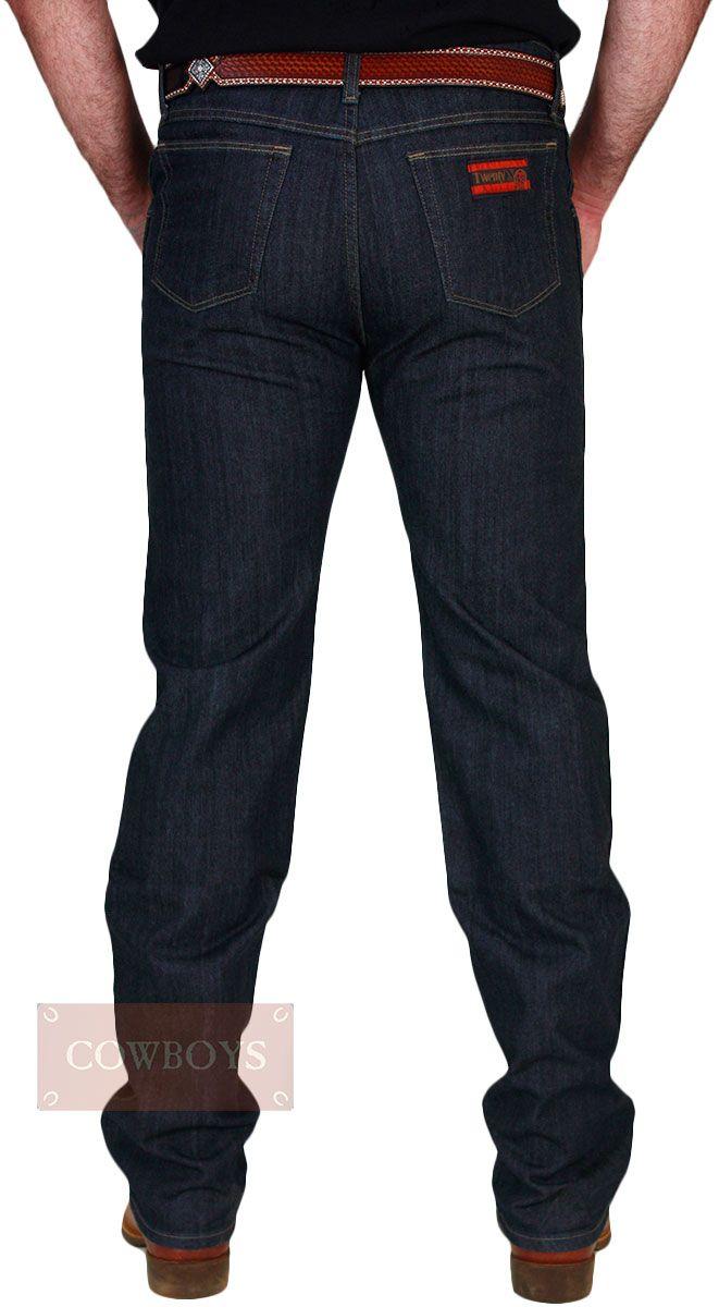Calça 20x Wrangler Masculina Slim Fit Elastic Waistband Pré Lavada Azul  Escura Calça 20x Jeans Masculino ae62c234d05