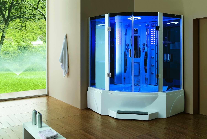 Pivot Door Steam Shower Enclosure Unit | Steam Shower Enclosure ...