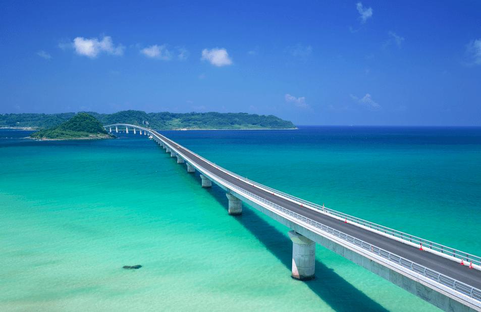 角島大橋の画像_山口県の観光名所   風景   角島、世界の絶景 ...