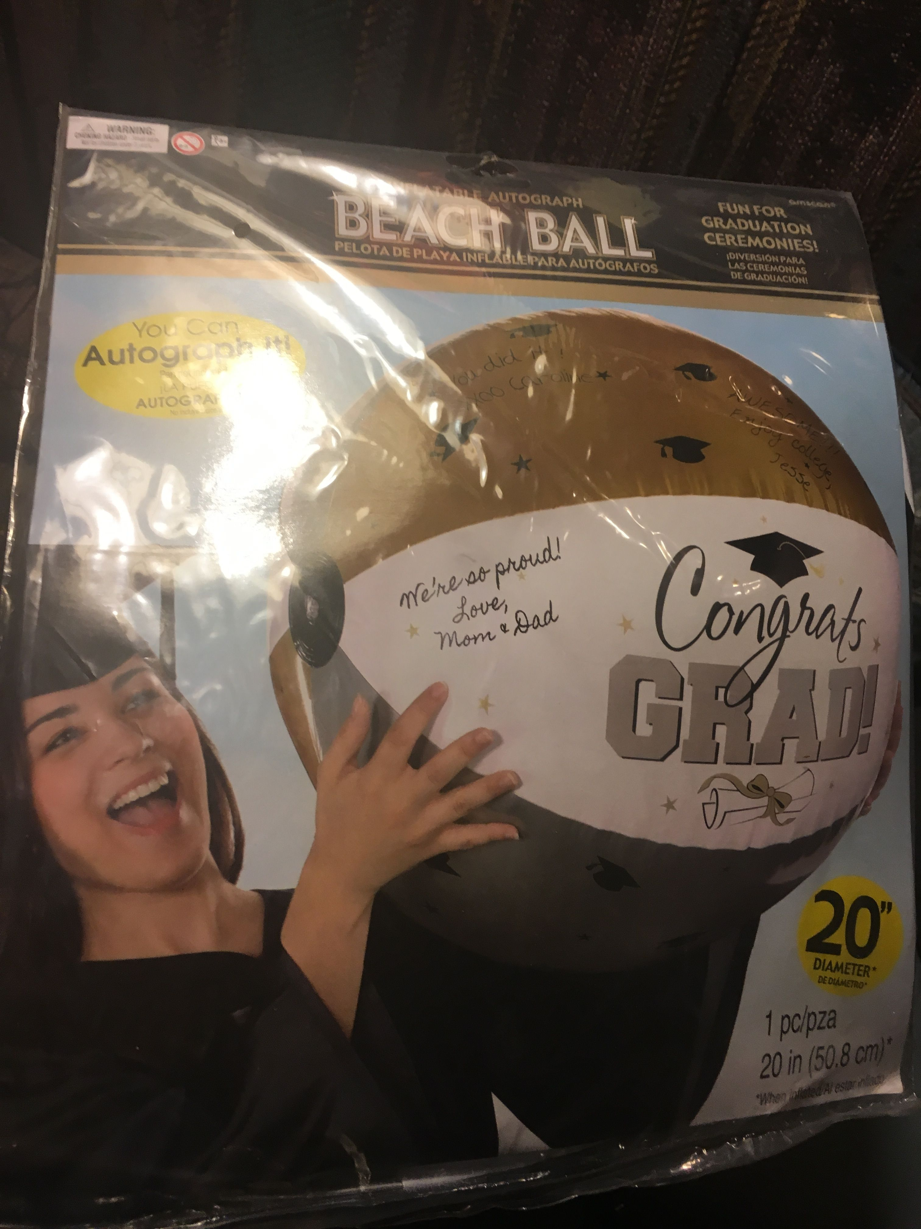 Graduation beach ball from party city party city