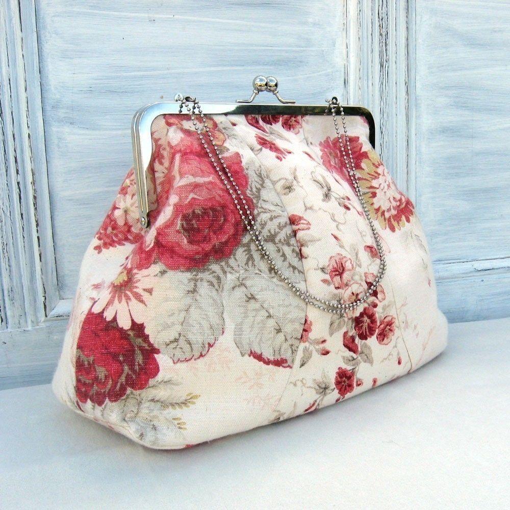 Vintage Style Frame Bag Sewing Pattern by StudioCherie on Etsy, via Etsy.