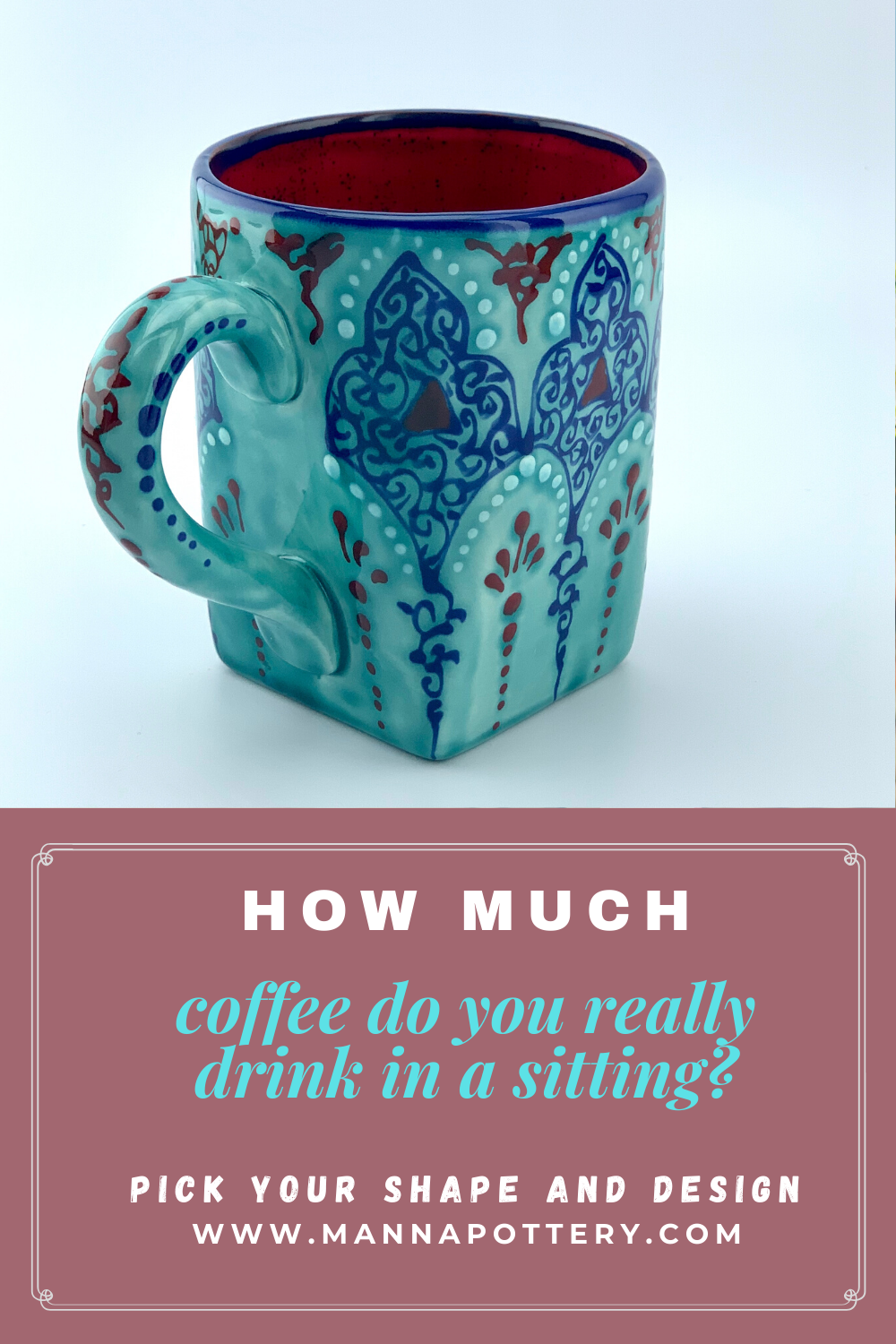 How much coffee do you really drink in a sitting? the best