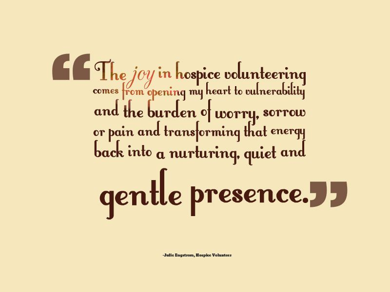Quotes About Volunteering Fascinating 40 Best Hospice Volunteer Quotes Images On Pinterest  Hospice