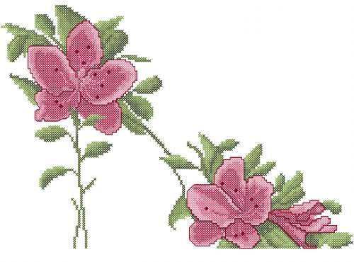 Flower Shoes Cross Stitch Free Embroidery Design Cross Stitch
