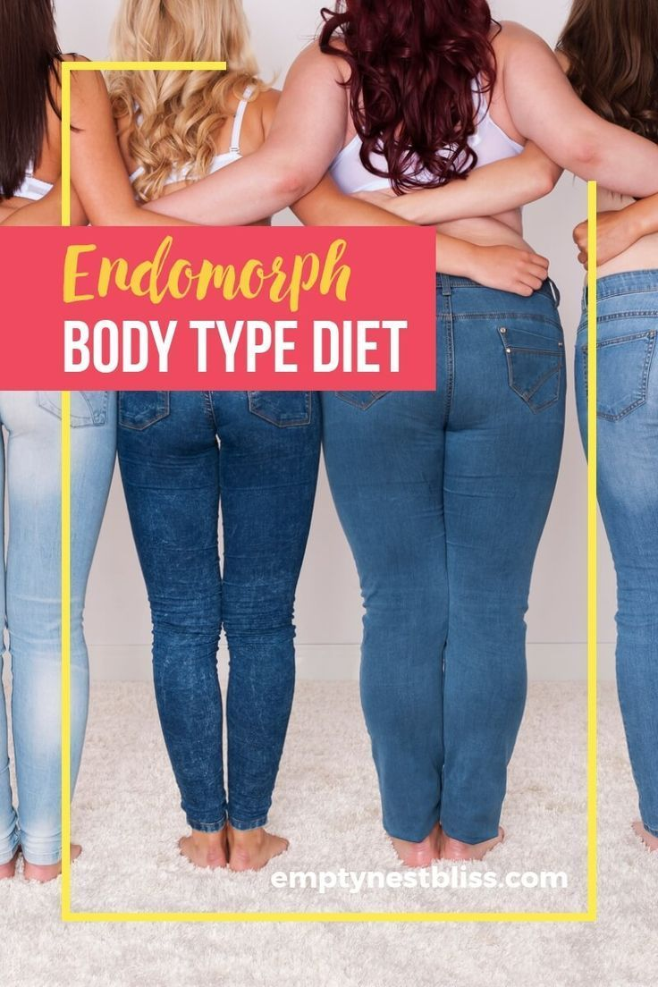 The endomorph diet and exercise plan can help you lose weight according to your body type. What are...