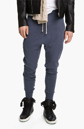 Topman 'Zane' Heather Cotton Lounge Pants available at #Nordstrom