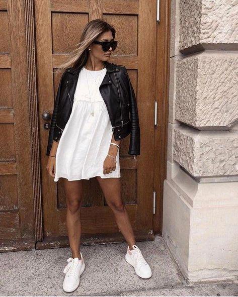 22 idées de tenues avec ton perfecto et ton blouson en cuir !