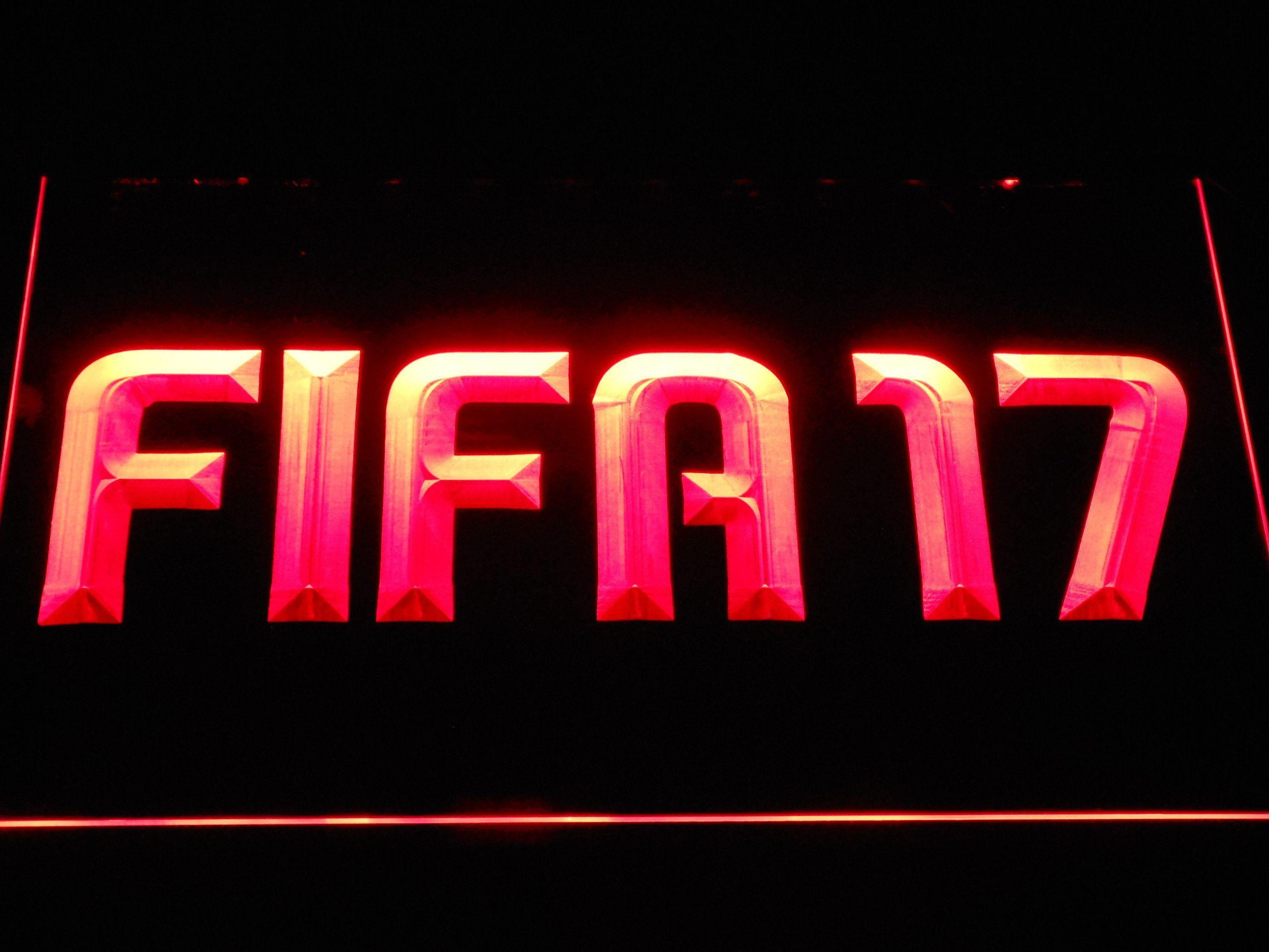 FIFA 17 LED Neon Sign